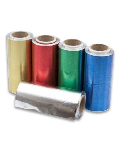 Rollo aluminio oro