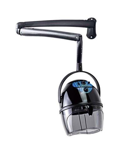Secador de casco con brazo