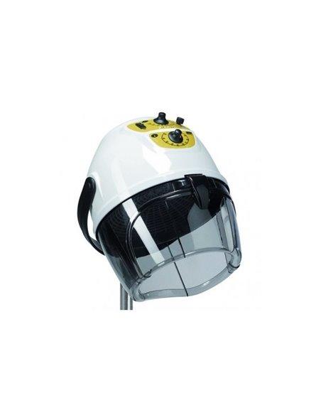 Secador de casco con pie
